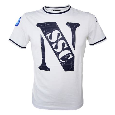 T Shirt Bianica t shirt ssc napoli 2015 2016 ssc calcio napoli