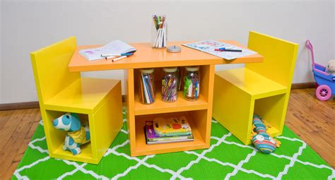 diy kids table and chairs how to make a kids table and chair set diy gardening