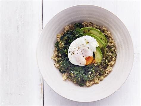 Herbal Detox Breakfast Recipes by Clean And Lean Egg Quinoa Breakfast Bowl S Health