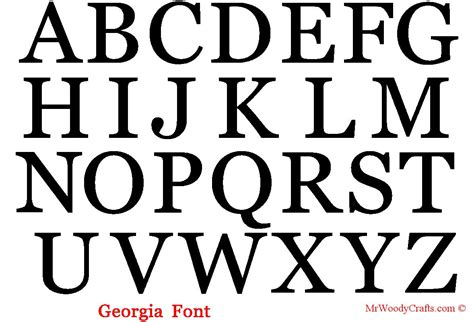 Letter Font 16 Unfinished Wooden Letters 5 Fonts By Mrwoodycrafts