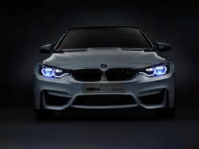 bmw m4 shows laser headlights with ces concept evo