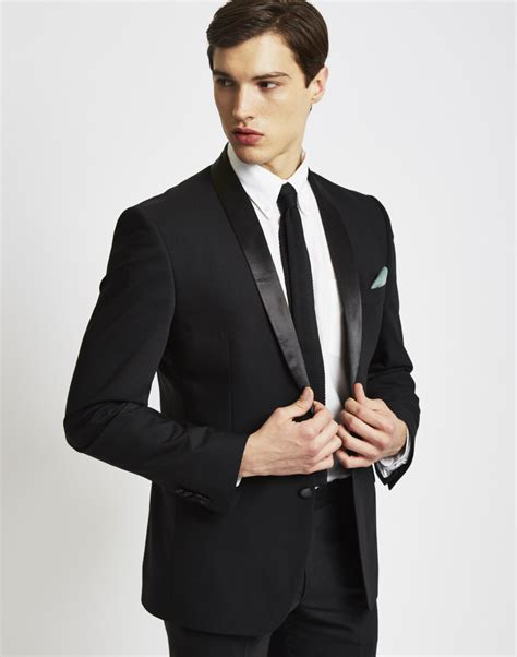 19176 Tassel Casual Black Gray New Arrival 19 Sept the idle tuxedo jacket in slim fit at the idle