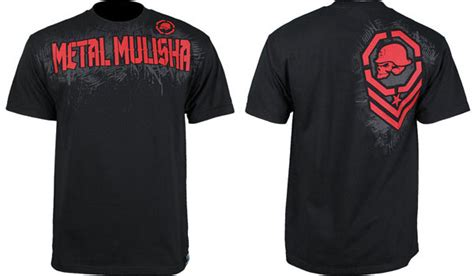 Kaos Aesthetics Fightmerch metal mulisha fight gear t shirts