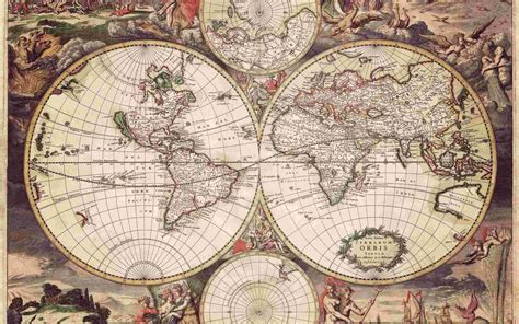 map wallpapers old world map 1689 wallpaper unsorted other