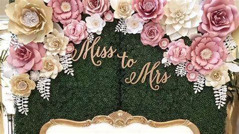 Dekorasi Lamaran Paper Flower Backdrop 15 inspirasi dekorasi paper flower yang cantik untuk lamaran pernikahan