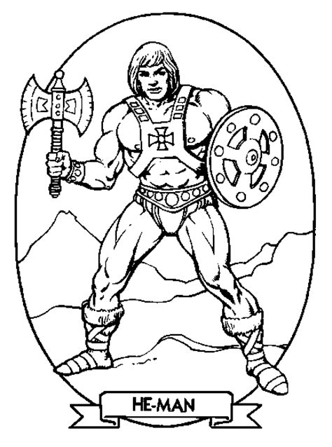 Krafty Kidz Center He Man Coloring Pages Coloriage Transformers ImprimerL