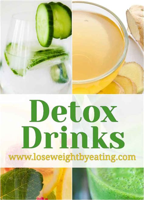 Different Types Of Detox Juices by Detox Drinks The Guide To Better Health And Weight Loss
