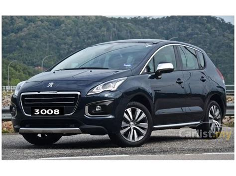 peugeot suv 2015 peugeot 3008 2015 1 6 in selangor automatic blue for rm