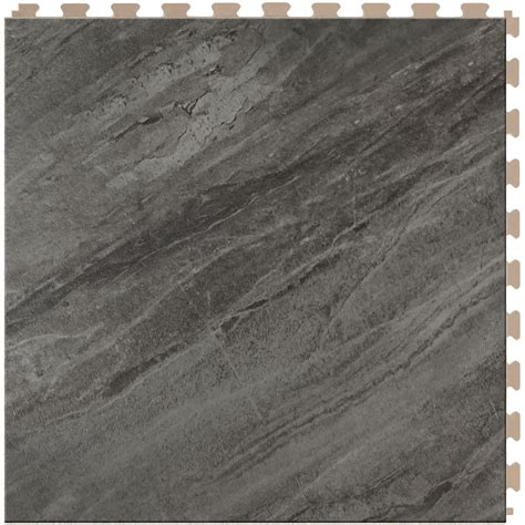 shop perfection floor tile lvt 6 piece 20 in x 20 in multi floating stone luxury commercial