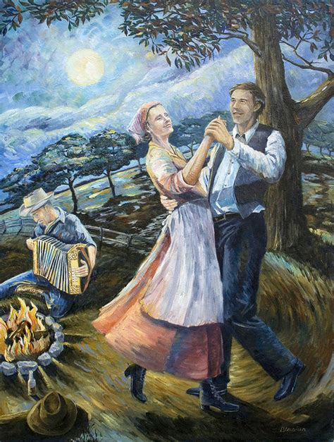Swing Lady Home Painting