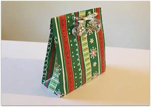 wrapping paper gift bag make a gift bag from wrapping paper the make your own zone