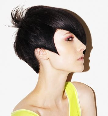 beautiful women hairstyle with sideburns new short hairstyle for girls and modern haircut ideas