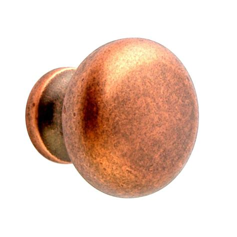 copper knobs for kitchen cabinets copper kitchen cabinet knobs bellacor item 113824 image
