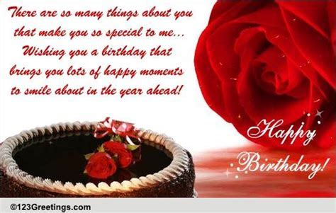 Happy B'day To Someone Special  Free Specials eCards