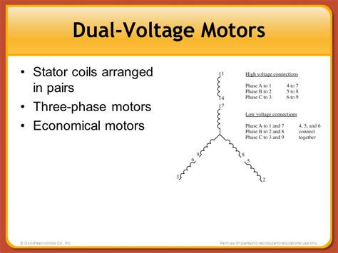single phase dual voltage motor wiring diagram dolgular