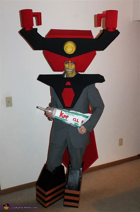 diy lego lord business costume
