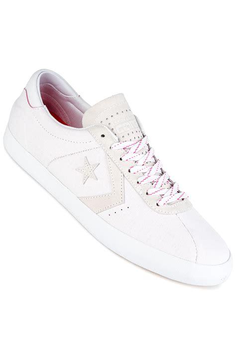 Converse Original Breakpoint Pro Ox converse breakpoint pro ox shoes white white pink glow