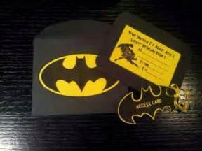 batman invitations ideas