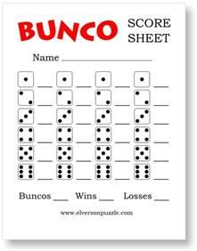 free bunco scorecard template bunco supplies deluxe bunco dice