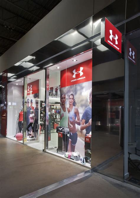 under armoir outlet under armour s first euro outlet store by storeage