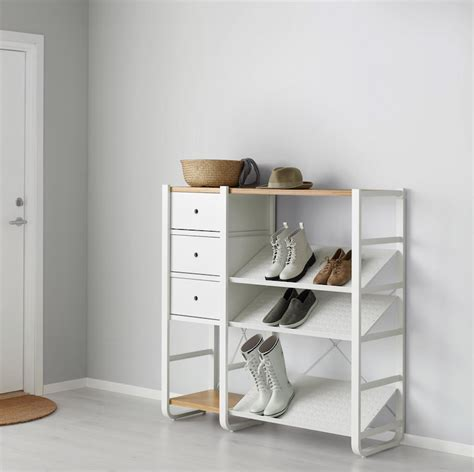 elvarli ikea hack ikea elvarli storage solution shelving unit kastensysteem bokhylla pinterest storage hall