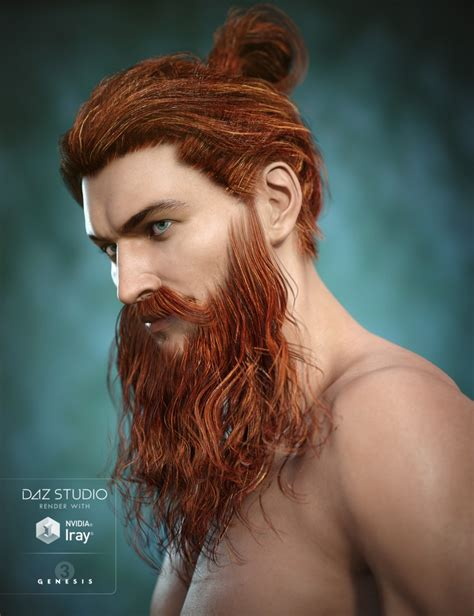 beard color colors for santa beard 3d models and 3d software by daz 3d