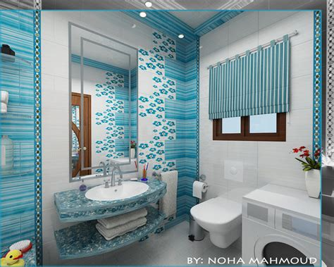 bathroom decor for kids with white wall ideas home kids bathroom by noha m hamdi on deviantart