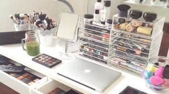 Bathroom Ideas For Teenage Girls my makeup collection and storage 2015