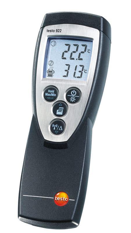 Thermometer Testo testo 922 differenz thermometer 0560 9221