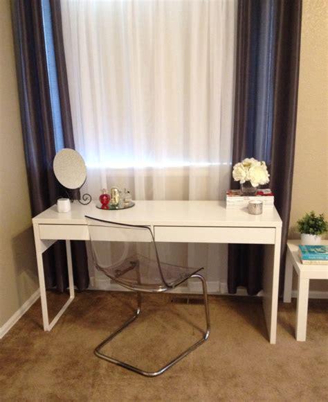 Micke Desk Vanity by Micke Desk As A Vanity Vanity Ikeaideas