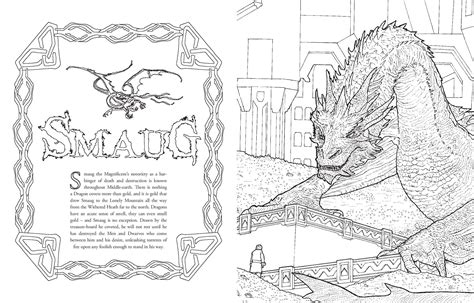 hobbit coloring pages the hobbit desolation of smaug coloring pages coloring pages