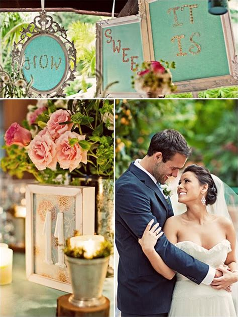 shabby chic wedding decor romantic decoration