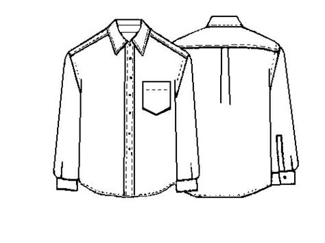 shirt pattern drawing project build nick a shirt definatalie com