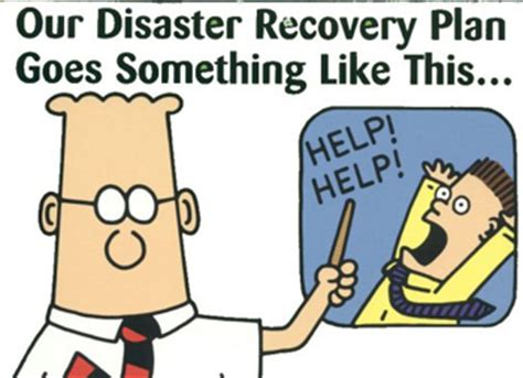 disaster recovery test