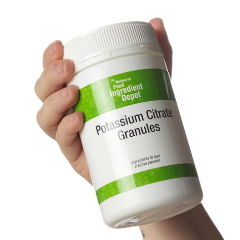 potassium citrate usp e 332 the melbourne food depot