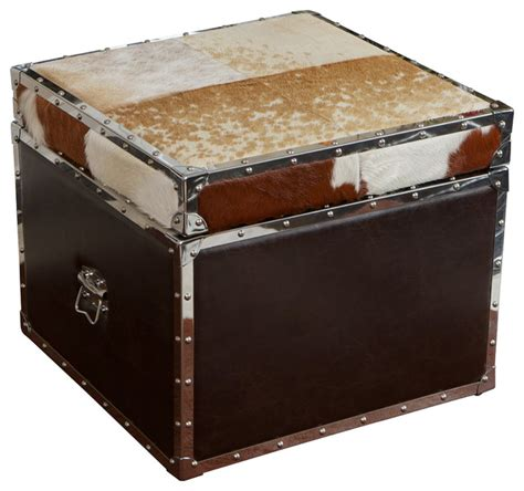 leather cubes ottomans ikea cowhide ottoman cowhide