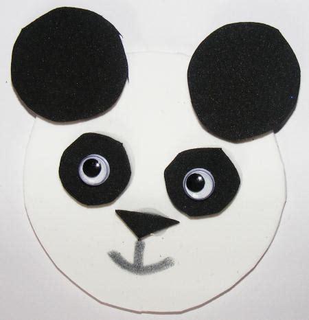 panda crafts for panda magnet craft for