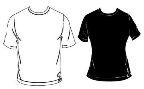 Baju Icon White media blank tshirt vector creationswap