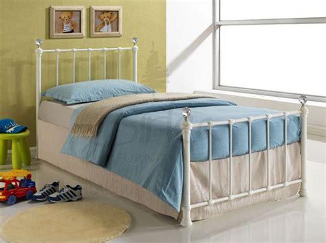 Birlea Jessica 3ft Single Cream Metal Bed Frame With Single Metal Bed Frame Sale