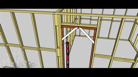 how to install an exterior door frame assemble and install a door jamb