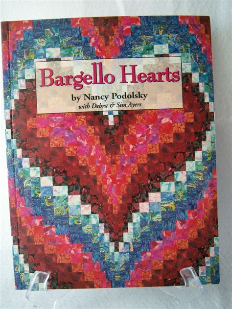 Bargello Quilt Pattern Books by Quilt Book Bargello Hearts By Nancy Podolsky Technique For