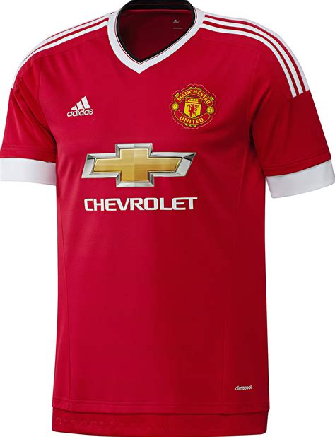 Jersey Manchester United Home adidas manchester united 15 16 kits released footy headlines