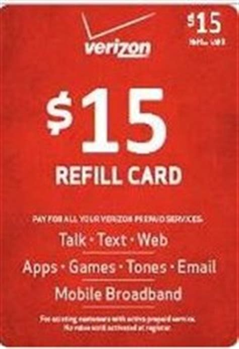 Verizon Trade In Gift Card - amazon com verizon 15 refill card cell phones accessories