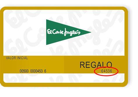 corte ingles tarjeta regalo c 243 mo pagar 183 el corte ingl 233 s