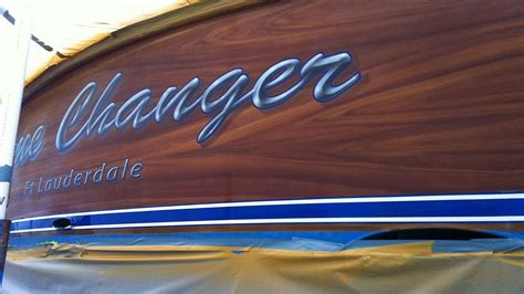 boat transom paint game changer ft lauderdale boat transom boats transom