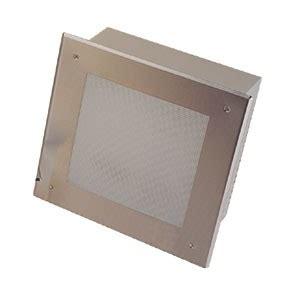 recessed incandescent light fixture 12 quot square recessed incandescent canopy light fixture