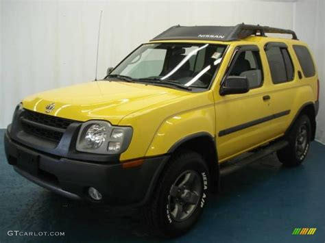 2002 solar yellow nissan xterra se v6 4x4 6102528 gtcarlot car color galleries