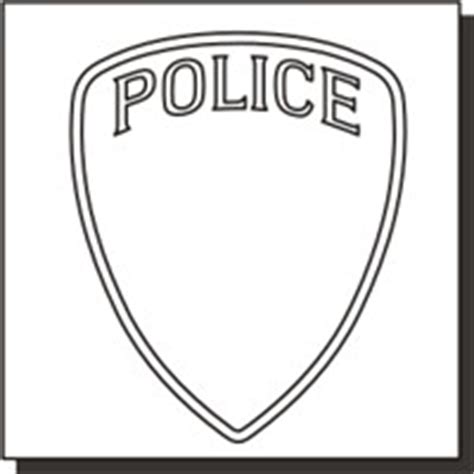 Police Patch Patch Design Template