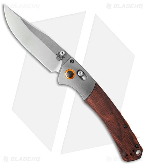 benchmade river knife benchmade hunt crooked river axis lock knife dymondwood 4