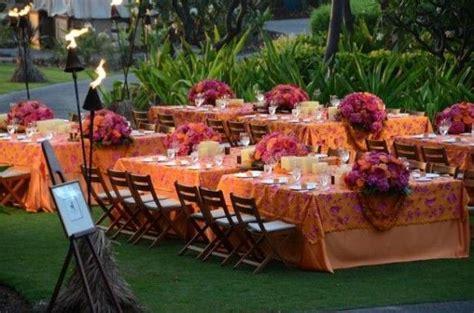 Backyard Luau Wedding Reception Pintrest Tiki Wedding Ideas Colorful Luau Wedding